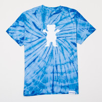 OG Bear Tie-Dye Tee in Blue