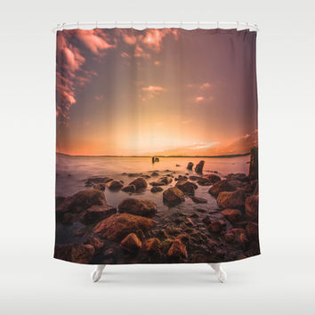 I dream of you Shower Curtain by HappyMelvin