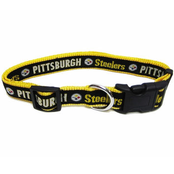 Pittsburgh Steelers Collar Medium