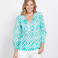 Women's Tunics: Diamond Lattice Tunic for Women - Vineyard Vines