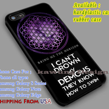Bring Me The Horizon Lyric iPhone 6s 6 6s+ 6plus Cases Samsung Galaxy s5 s6 Edge+ NOTE 5 4 3 #music #bmth dl4