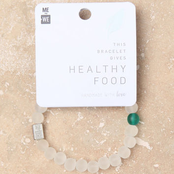 Me To We Healthy Food Cause Rafiki Bracelet at PacSun.com