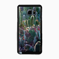 cactus garden for Samsung Galaxy Note 5 Case *NP*