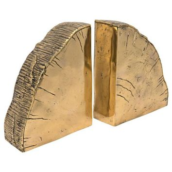 Dalva Bookends, Brass