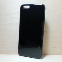TPU Soft Silicone case for iphone 6 (4.7 inches) - Black
