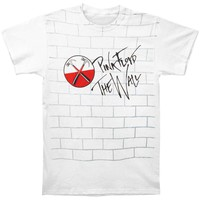 Pink Floyd Men's  The Wall T-shirt White