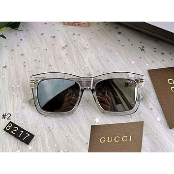 GUCCI 2019 new large box square retro driving polarized sunglasses #2