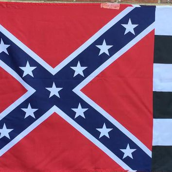 Rebel Checker Racing Flag