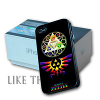 Legend of Zelda Triforce Design For iPhone 4/4s and iPhone 5 Case, Samsung S3 i9300 and Samsung S4 9500