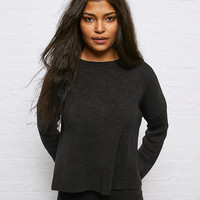 Don't Ask Why Grommet Sweater, Black