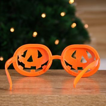 Funny Halloween Glasses Costumes Pumpkin Lantern Novelty Frame Party And Ball Cosplay Props Decoration Without Lenses
