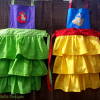 Disney Princess Snow White  or Ariel Apron for Toddler/Child