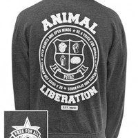 Animal Liberation Varsity Jacket: PETA Catalog