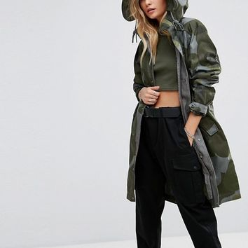 G-Star Be Raw Parka Jacket at asos.com