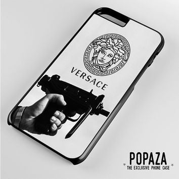 versace logo gun iPhone 6 Plus Case Cover