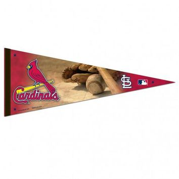 St. Louis Cardinals Premium Pennant (Ball & Glove)