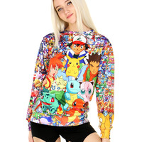 CATCH EM ALL SWEATER