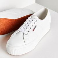 Superga 2790 Leather Platform Sneaker | Urban Outfitters