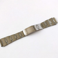 Watch Bracelet 18mm NOS. Vintage Stainless Steel Bracelet From Soviet Times