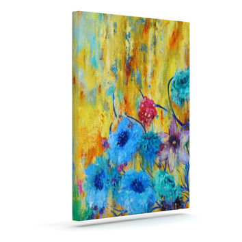 "Sonal Nathwani ""Cosmic Love Garden"" Outdoor Canvas Wall Art"