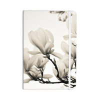 "Iris Lehnhardt ""Magnolia Blossoms"" White Floral Everything Notebook"