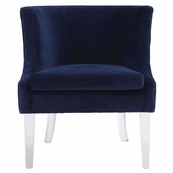 Myra Velvet Chair