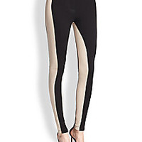 BCBGMAXAZRIA - Side-Striped Leggings - Saks Fifth Avenue Mobile