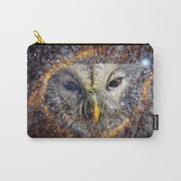 Mystic Owl Carry-All Pouch by lostanaw