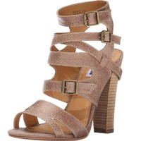 Not Rated Solana Dress Sandal, Taupe, 6 M US