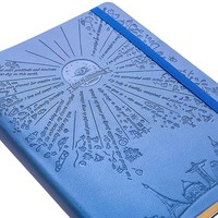 """Deluxe Law of Attraction Success Planner 2017 - Increase Productivity, Time Management, Passion & Happiness - Life & Week Planner & Gratitude Journal - B5 size Non dated (6.9"""" x 9.8"""") Rio Blue"""