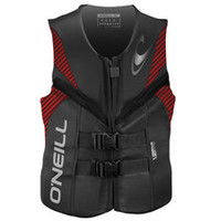 O'neill Reactor Life Jacket - Graphite / Red