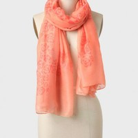 sunrise serenade printed scarf at ShopRuche.com