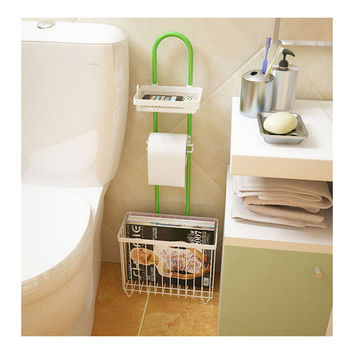 creatwo simple multifunction bathroom reading rack toilet toilet shelving shelf storage rack storage