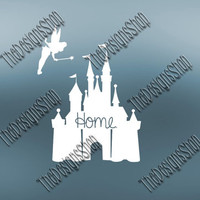 Disney Castle SVG | Disney Home | Princess Castle Svg | Cricut Explore Silhouette Studio cutting file | Cutting Machines | 025