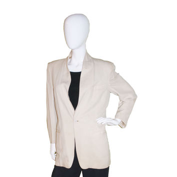 1950s Cream Dinner Jacket by After Six