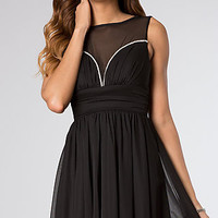 Short Sleeveless Dress for Homecoming