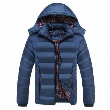 5XL Men Winter Jacket Warm Male Coats Fashion Thick Thermal Men Parkas Casual Men Branded Clothing