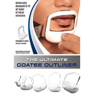 Beard Optima Goatee Outliner Kit - 5 Sizes Set All-In-One Tool | The Beard Care & Grooming Gift Kit For Any Beard Bro | Use With A Beard Trimmer Or Razor To Get Perfect Style