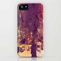 Snowy Night iPhone & iPod Case by Elyse Notarianni