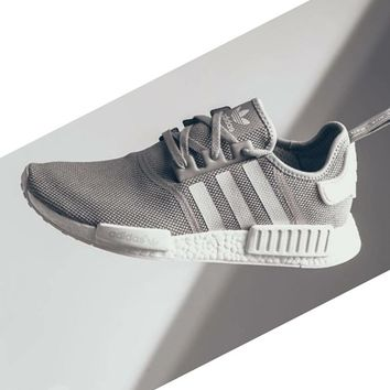 One-nice™ Adidas NMD Women Fashion Trending Sneakers Running Sports Shoes grey