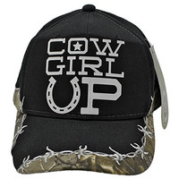 REALTREE COWGIRL UP REALTREE CAMO CAPS HAT
