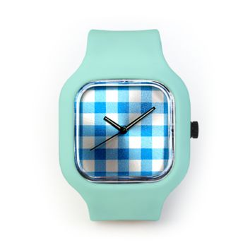 Dorothy's Dress Watch in a Seafoam Green Strap