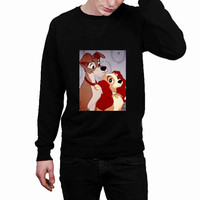 Lady and the Tramp a3176664-95a8-4017-a9f8-08bb42489799 - Sweater for Man and Woman, S / M / L / XL / 2XL *02*