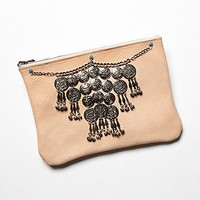 Understated Leather for Free People Womens Songbird Clutch