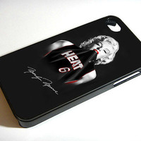 marilyn monroe miami heat black - iPhone 4 Case / iPhone 4S Case / iPhone 5 Case