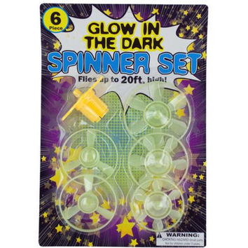 Glow in the Dark Spinner Set