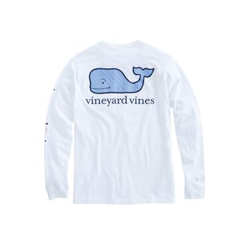 Vineyard Vines, Long-Sleeve Breast Cancer Awareness T-Shirt, White Cap