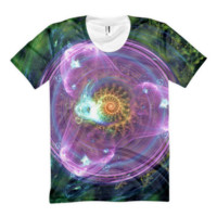 Tri in the Sky || Women's sublimation t-shirt — Future Life Fashion