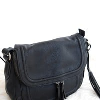Sierra Crossbody Purse In Black