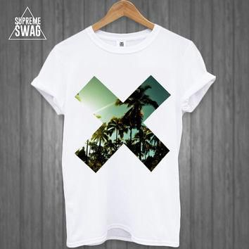 Dope supreme swag hipster tropical t-shirt style Homies Obey Disobey Cross OFWGKTA dop